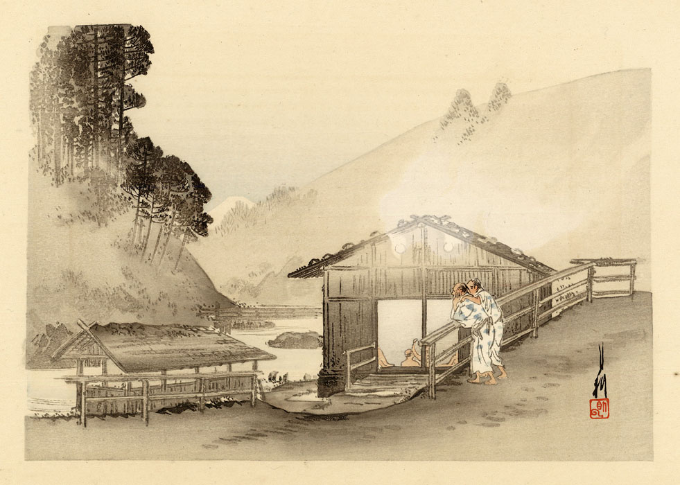 Gekkô: View of an Onsen