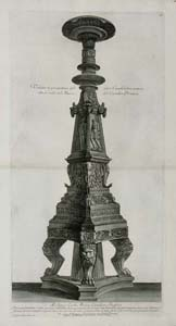 Piranesi - Antique candelabrum