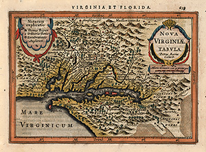 Virginia - Mercator - Janssonius