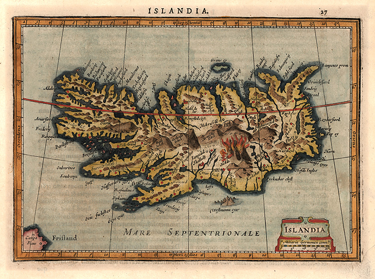 Island - Mercator - Janssonius