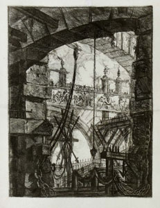 Piranesi – Carceri: The Grand Piazza