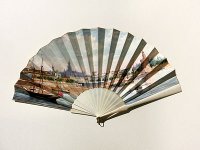 Spain: Folding Fan Adolfo Giraldez