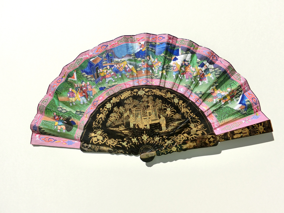 China: Mandarin Folding Fan